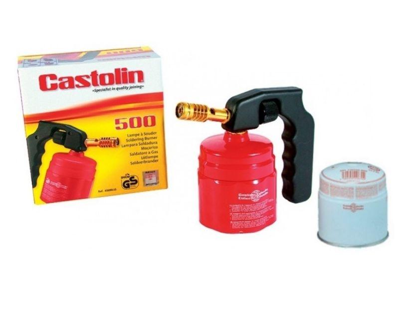 Castolin KIT 500 FLEX SALDATURA SALDATURE BOMBOLETTA BOMBOLA GAS