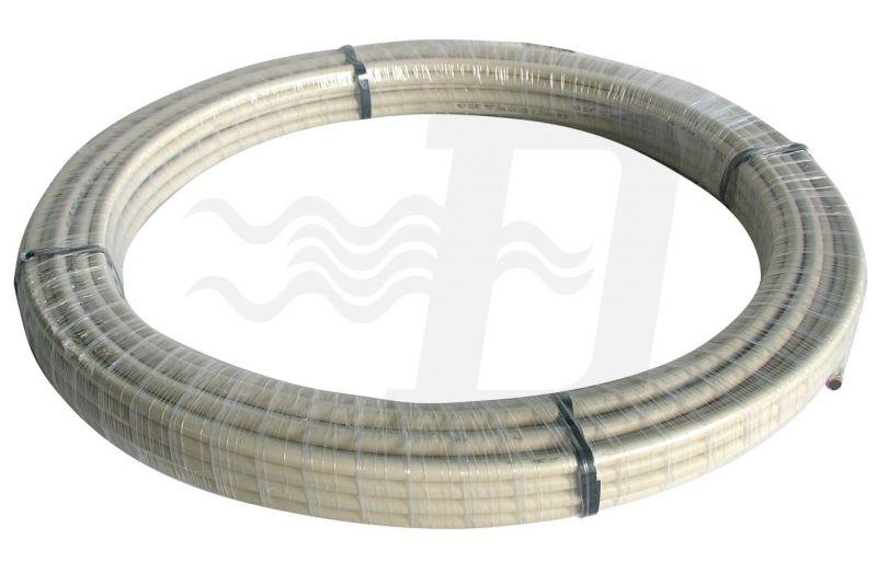 TUBO IN RAME RIVESTITO ISO PVC Diam. 22 x 1 (cf. 25 MT)